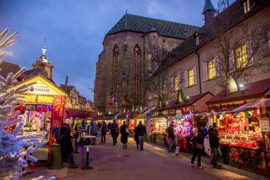 Marché de Noël place des Dominicains de Colmar