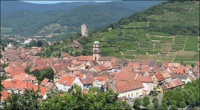kaysersberg vue du village