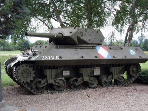 Char M10 destroyer à Illhaeusern