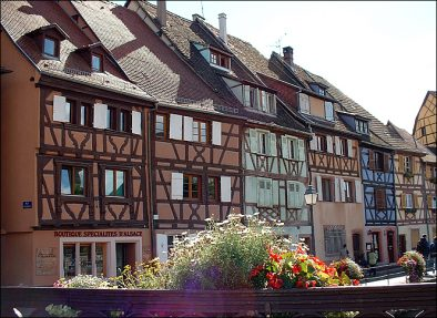 quai de la Poissonerie à Colmar