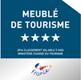 4 étoiles Meublé de Tourisme